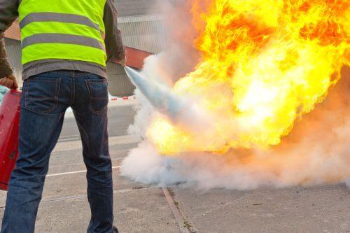 incendie extincteur